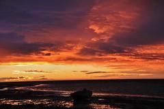 Wild night ahead #1 (robynbrody) Tags: ocean sunset sea sky water clouds twilight dusk australia s southaustralia portbroughton fishermansbay spencergulf