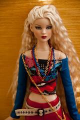 ilovethatdoll OOAK outfit for Tonner Antoinette / Cami / Jon (ilovethatdoll) Tags: outfit ooak tshirt jersey antoinette 16 cami leggings leatherette tonner ilovethatdoll
