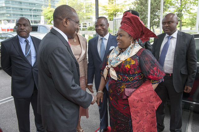 Thumbnail for First Lady of Nigeria visits ITU