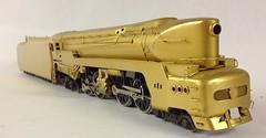 Streamliners - Various Streamline Steam Locomotives in HO Scale - Pennsylvania Railroad T-1 4-4-4-4 by Alco Models (bslook1213) Tags: ho googleimages brasslocomotive hon3 streamlinedlocomotives yahoopictures streamlinersstreamlinedlocomotivesbraskmtktmpfmbalboamodelrailroadssteamlocomotivepassengerhon3oscalehoscalenscalegscaleon3japanese japanesebrass