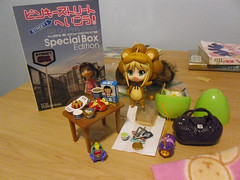 Vanie's gifts (Mahohime) Tags: apple bag toy pinkyst rement nendoroid