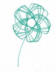 Spirograph Flower (judy_jowers) Tags: art children child math roulette spirograph hypotrochoids curveepitrochoids