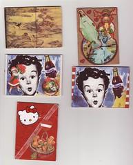 My ATC (sonya_ippo) Tags: atc vintage mod artist cola kitty card trading coca hallo