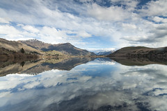 Lake Hayes (Michael Baynes Photography) Tags: newzealand lake reflection beautiful landscape amazing still nz southisland queenstown arrowtown lakehayes blinkagain