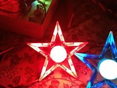 red ge d14 (JeffCarter629) Tags: glow ge c9 d14 vintagechristmas glowstar vintagechristmaslights gechristmaslights generalelectricchristmaslights glostar