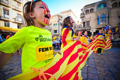 Som imparables! (amiplim_) Tags: camp kids for freedom joy catalonia via catalunya reus catalana catal poble 1714 baix diadadecatalunya catalanculture viacatalana 11s2013