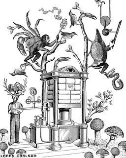 LARRY CARLSON, Image 5, Astronomica Volume 2, 2013.