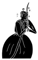 Samurai-Jack (JON BOAM) Tags: drawing samurai samuraijack jonboam samuraiillustration
