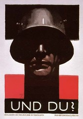 "WW2 German propaganda poster • <a style=""font-size:0.8em;"" href=""http://www.flickr.com/photos/81723459@N04/9996422066/"" target=""_blank"">View on Flickr</a>"