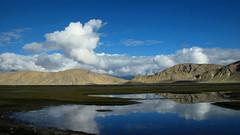 Tibet scenery (PeterCH51) Tags: china mountains nature river landscape scenery peaceful tibet silence tingri friendshiphighway 5photosaday shelkar mywinners flickraward newtingri peterch51 flickrtravelaward tingritown