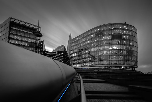 It's A Step Up (88047855@N07), photography tags:  longexposure london blackwhite nikon architectural nd morelondon d700