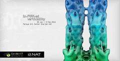 informed verticality (dubai_nat) Tags: vertical architecture design dubai uae middleeast cellular workshop sharjah workshops automata verticality informed 2015 parametric codeit dnat dubainat dxbnat