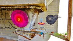 ROA, E1000 / Nieuwe molens - 10 apr 2015 (Ferdinand 'Ferre' Feys) Tags: streetart graffiti belgium belgique belgië urbanart graff ghent gent e1000 gand graffitiart roa arteurbano artdelarue urbanarte e1000ink