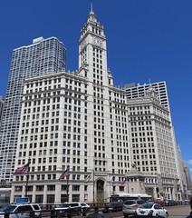 Wrigley Building (Chicago, Illinois) (courthouselover) Tags: illinois il cookcounty chicago michiganavenue chicagometropolitanarea chicagoland route66 northamerica unitedstates us