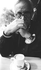 Luces y Sombras (pinhead1769) Tags: madrid españa blancoynegro blackwhite cafe spain retrato dali lorca literatura cafetería unamuno camilojosecela paseodelacastellana bwdreams cafegijon ramónjsender