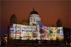Liverpool ( Cunard Line 175th Year Anniversary Celebrations ) 22nd May 2015 (Cassini2008) Tags: liverpool cunard portofliverpool cunardcruiselines thethreequeens cunard175thanniversary