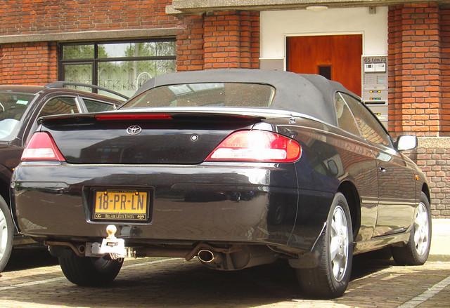 2001 30 convertible toyota camry v6 solara toyotacamry 24v toyotacamrysolara camrysolara 18prln sidecode6
