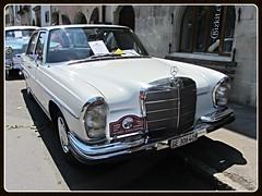 Mercedes-Benz 250S 1967 (v8dub) Tags: auto old classic car mercedes benz schweiz switzerland automobile suisse automotive voiture le german oldtimer oldcar 250 collector wagen pkw klassik landeron worldcars s1967