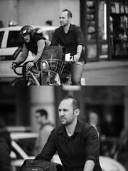 [La Mia Citt][Pedala] con il BikeMi (Urca) Tags: milano italia 2016 bicicletta pedalare ciclista ritrattostradale portrait dittico bike bicycle nikondigitale mir biancoenero blackandwhite bn bw nn 89152 bikemi bikesharing