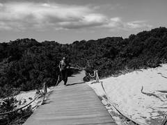 Runner (DanieleS.) Tags: photo photography shot wow amazing cool great good dannyboy ilovedannyboy daniele formentera street black white runner running island summer travel fotografia strada