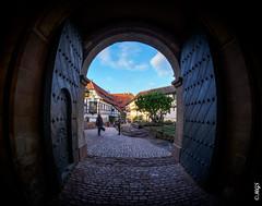 She is waiting... (gifu88) Tags: wartburg castle germany easterwalk eisenach luther
