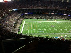 Dark dome (skooksie) Tags: saints sports superdome louisianasuperdome neworleans