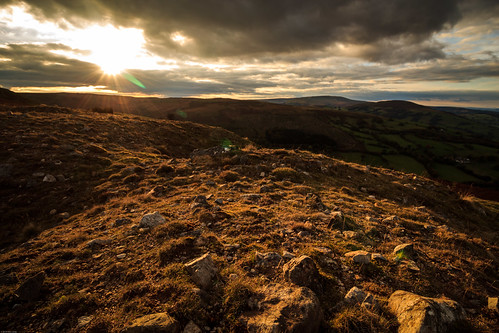 Sunset on Llangynidr Mountain, Brecon Beacons