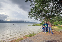 Family...where Life begins & Love never ends (<Pirate>) Tags: family timah tasoh lake beseri perlis sunset hunting stormy day drizzling rain coming water landscape ray masters gnd 6hard 1018 is stm rocktober october 2nd 2016 malaysia