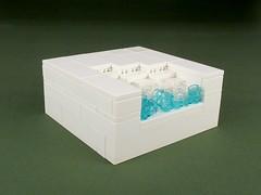 6th - dudek - Sea Organ (RLUG Kockice) Tags: rlug kockice croatia contest micro lego