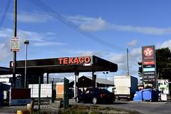 Texaco, Newtownards Northern Ireland. (EYBusman) Tags: texaco petrol gas gasoline filling service station garage newtownards county down northern ireland valero todays local eybusman