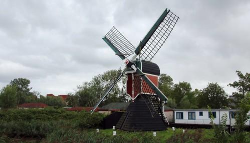 Nederland - Zuid-Holland - Oegstgeest - Kikkermolen - 1752