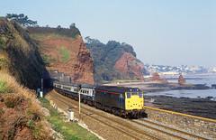 Classic location (seawall) Tags: dawlish 31458 class31