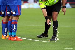 la lnea mgica (Ricardo Obando) Tags: universidaddechile ohiggins ftbolchileno estadionacional rbitro chile