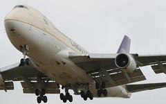 Saudi Arabian Cargo Boeing 747-400F (AMSfreak17) Tags: amsfreak17 danny de soet canon 70d ams eham amsterdam luchthaven schiphol airport vliegtuigen vliegtuig aircraft airplane jet jetphotos planespotting luchtvaart vertrek aankomst departure arrival spotter planes world of airplanes nederland the netherlands holland europe dutch landing approach runway 18r polderbaan saudi arabian cargo boeing 747400f tfamu