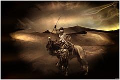 (Christian Bachellier) Tags: dsert photoshop tribu nomade sepia