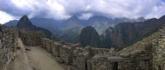 Panoramic View (oxfordblues84) Tags: oat overseasadventuretravel bucketlistdestination peru machupicchu cusco cuscoprovence sky clouds cloudysky cloud lostcityoftheincas inca mountain outdoors stone architecture building ruins incaruins panoramicview panoramic unescoworldheritagesite unesco 5photosaday