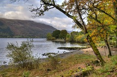 Autumn at Loch Earn, Central Highlands, Scotland (Baz Richardson (trying to catch up)) Tags: scotland lochearn lochs lakes autumn centralhighlands landscapes