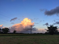 Clouds & Pylons (Marc Sayce) Tags: sunset clouds electricity pylons lines east worldham hampshire south downs national park hangers way autumn 2016 cumulus
