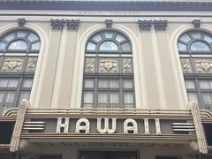Hawaii 2016 (jericl cat) Tags: hawaii oahu 2016 waikiki honolulu theater theatre 1922 movie vaudeville palace marquee