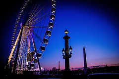 The Big Wheel (VIProduction) Tags: ferris wheel ferriswheel big bigwheel blue purple walking champs elysees champselysees world walk euro europe eiffel eiffeltower love travel traveling tower unity iloveparis inspire inspired inspiring outdoors colorful colors pointofview photography paris photographer prayersforparis peace parisfrance parisstreets landscape sky skylovers skyline skies skylover bonjour france french flickr sunset amour canon canon6d canonphotos visual vacation beauty beautiful