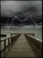 40th Birthday (Digital_Third_Eye) Tags: water rain lightning iphone iphone6s 2016 maryland