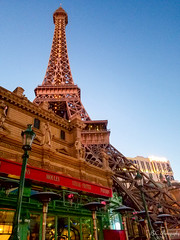 The Eiffel Tower Restaurant (-Brent Chapman Photography-) Tags: pnw building architecture nevada lasvegas thestrip canonphoto photography citylife halfscale eatery amazing view perspective sincity