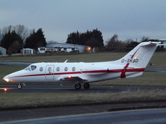 G-SKBD Raytheon Beechjet 400 Dragonfly Aviation Services Ltd (Aircaft @ Gloucestershire Airport By James) Tags: gloucestershire airport gskbd raytheon beechjet 400 bizjet dragonfly aviation services ltd egbj james lloyds