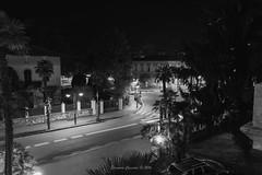 Riva del Garda (Eleonora Cacciari) Tags: rivadelgarda eos1200d eleonoracacciari ecacciari bw bn blackandwhite biancoenero nightshot scattonotturno lucidellacitt rivadelgardabynight unbiancoenerosoft