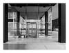 160430_0084_160430 171551_oly_S1_chicago (A Is To B As B Is To C) Tags: aistobasbistoc usa chicago illinois roadtrip travel olympus stylus1s bw lakeshoredrive 860880 ludwigmiesvanderrohe architecture modernism lobby janitor concierge reflection