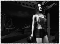 Sexy Little Neko 003 (Alexia Mirainkilala) Tags: neko maitreya truth gazebo addams blackwhite ascend