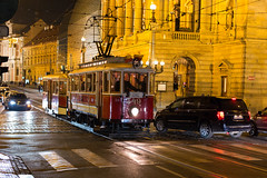 Prague: At the National Theater (romanboed) Tags: night street tram historic intersection national theater narodni divadlo tramvaj leica m 240 summilux 50 europe czech republic czechia bohemia prague cesko ceska republika praha hlavni mesto city cityscape travel tourism architecture praag prag praga