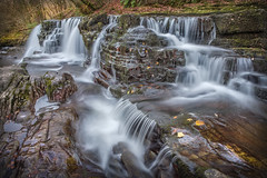 Sgwd Y Pannwr 2 (Anthony de Schoolmeester) Tags: sgwdypannwr afonmellte breconnationalpark waterfall water wales southwales autumn autumncolours slowshutterspeed fujixt2 fujinonxf1655f28