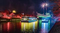 [298] Fireworks (waterman75) Tags: fireworks bayern kelheim altmhltal fluss farben feuer expolsion befreiungshalle feuerundflamme