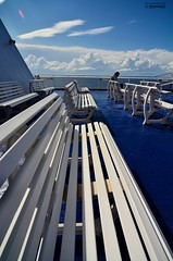 upper deck seating area (le Brooklands) Tags: blueputtees channelportauxbasques d7000 ferry newfounlandlabrador sigma1224mm